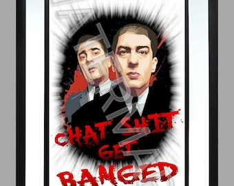 The Krays . A3 Print , Graphic . Art . gangster