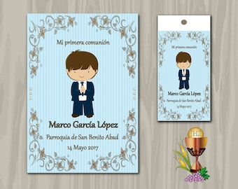 Tarjetas comunión,etiquetas comunión,tarjetas de comunión imprimibles,tarjetas de comunión imprimibles,digital download