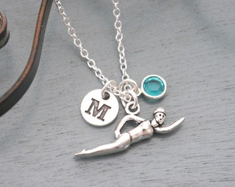 swimmer jewelry swimming jewelry etsy 6316