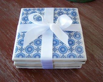 Handmade Ceramic Tile Coasters