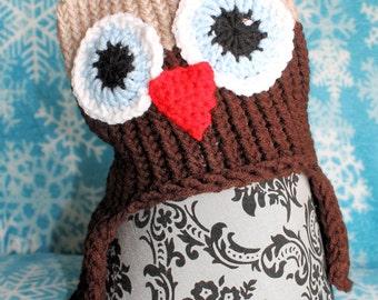Little Boy Owl Hat