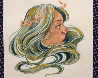 Forest spirit, original artwork