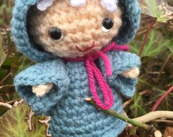 Handmade Crochet  Fairy Godmother