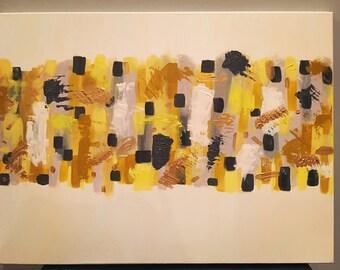 SOLD Yellow Brick Road 18x24