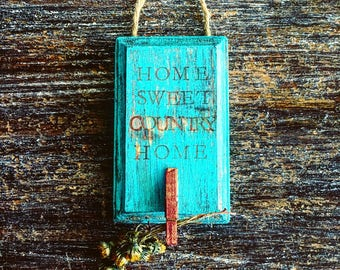 Home Sweet Country Home Wall Decor