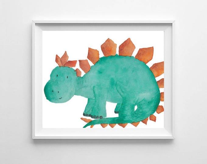 Dinosaur nursery prints, colourful wall art, DINOSAUR print, Toddler room decor, baby nursery decor, dinosaur decor, dinosaur theme, dino