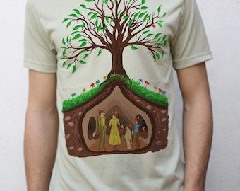 Fantastic Mr. Fox Inspired T shirt