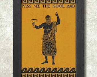 Socrates Poster Print A3+ 13 x 19 in - 33 x 48 cm kool aid Buy 2 get 1 FREE