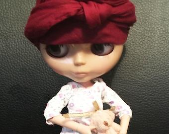 Miniature 1:6 1/6 Scale 4CM Teddy Bear Doll Diorama For Blythe, Barbie, Poppy Parker, FR, Momoko, Pullip, Dall,Azone