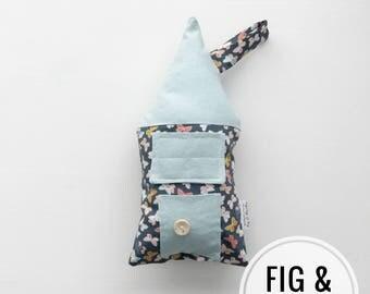 Tooth Fairy Pillow, House Pillow, Girls Children Keepsake, Room Decor, Tooth Fairy House, boys, fairy house, decorative pillow