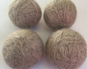 Wool Dryer Balls set of 4