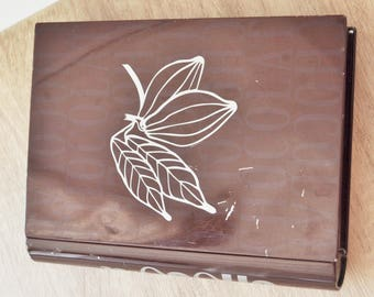 Chocolate metal box