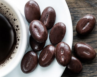 Mothers' Day Gift - because all mums need: Coffee & Chocolate Espresso Beans - original photography by Cath Lowe