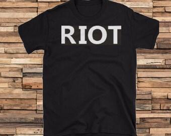 RIOT Shirt, 100% cotton, Mac RULES Always Sunny Philadelphia