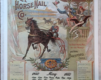 The Capewell Horse Nail Co. Print