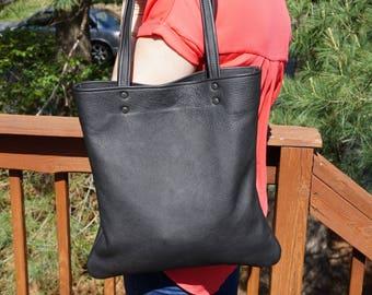 leather tote.leather tote bag. leather bag .handmade tote bag . custom leather bag.brown leather tote.tote bag sale.tote bag sale.black tote