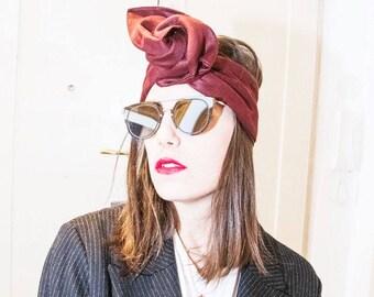 fascia / turbante / headband in lino Maxamara