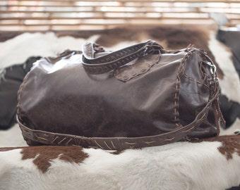 UNIQUE Handmade Carry On Bag - One Of A Kind - Designer piece
