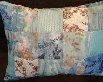 Handmade Designer Quilted 16x12 Throw Pillow