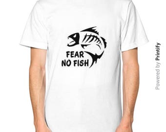 Fear the fish etsy for Fear no fish