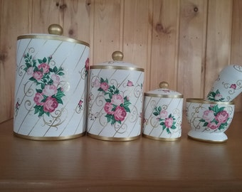Gift set of containers for kitchen