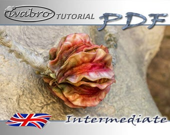 Polymer clay tutorial - Hollow-flower-beads - English