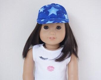 SALE Galaxy Starry Baseball Cap for 18 inch dolls