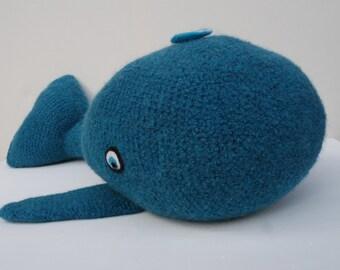 Willmar... Stuffed whale