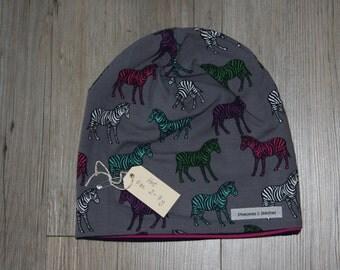 Kids Reversible Beanie Hat (2T-7years)