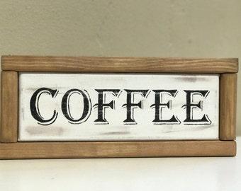 Coffee kitchen decor canvas/wooden sign