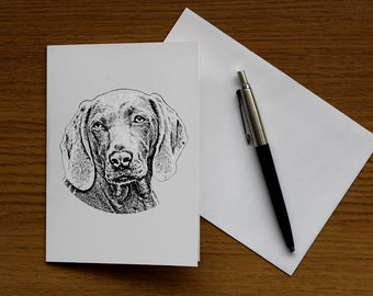Cute Dog (Pack of 5 Greeting Cards)