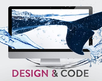 Custom Bespoke website design and development package: webdesign & webdevelopment. Add e-commerce / web shop / branding / logotype / hosting
