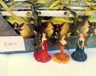 Lot 23 woodland Fairies mini colored decorations/favors shopper