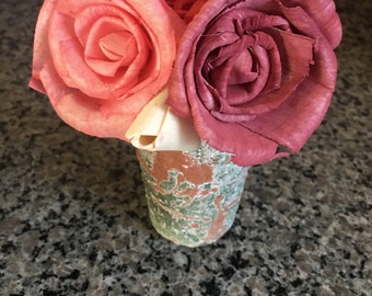 Sola Flower Red Rose Decor