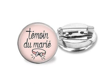 1 pin wedding best man _ customizable color family invited @6