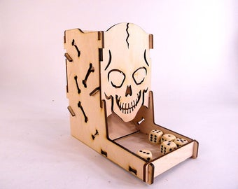 Dice Tower - Skull