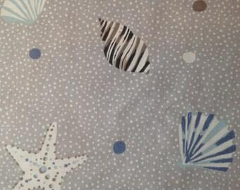 Clarke & Clarke Seashell Fabric 137cm x 150cm