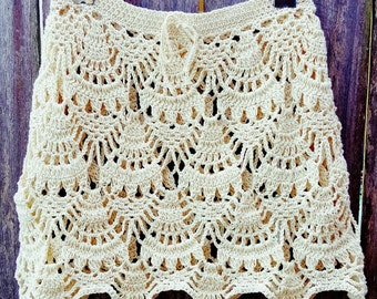 Handmade Crochet Skirt