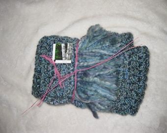 Hand crocheted scarf