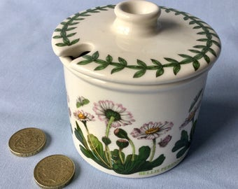 Portmeirion jam pot
