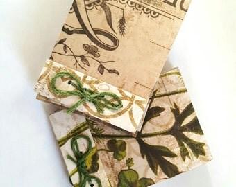 Green Thread Matchbook Notebook