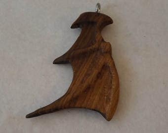 Dragons wing pendant