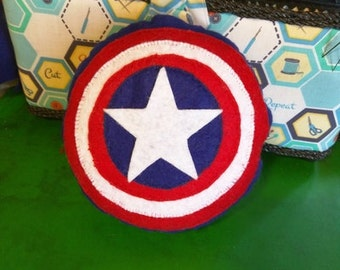 Captain America Shield Plushie Pillow