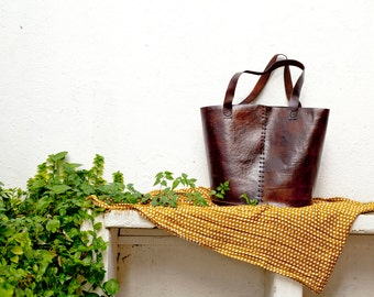 Handmade Leather Bag Napati