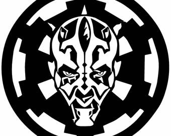 Star Wars Darth Maul Decal