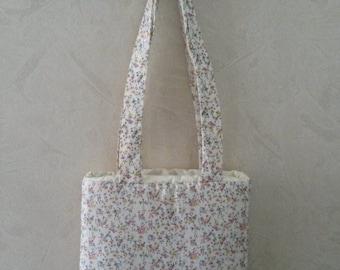 "Bag shopping bag ""Flowers of the prairies"" 32 x 28 cm"