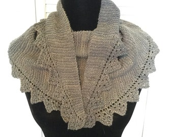 Versatile denim blue scarf/shawl