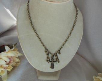 Brass & Bells Necklace