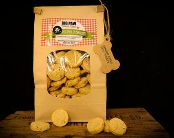 Ships FREE! Ginger Apple Dog Treats, Gourmet, Homemade Dog Treats, Dog Biscuits, Gift for Dog Lovers, Healthy Ingredients, Pets, Fresh Baked