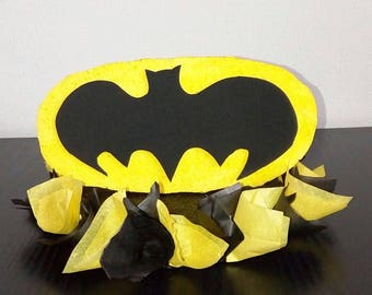 little Batman centerpiece.